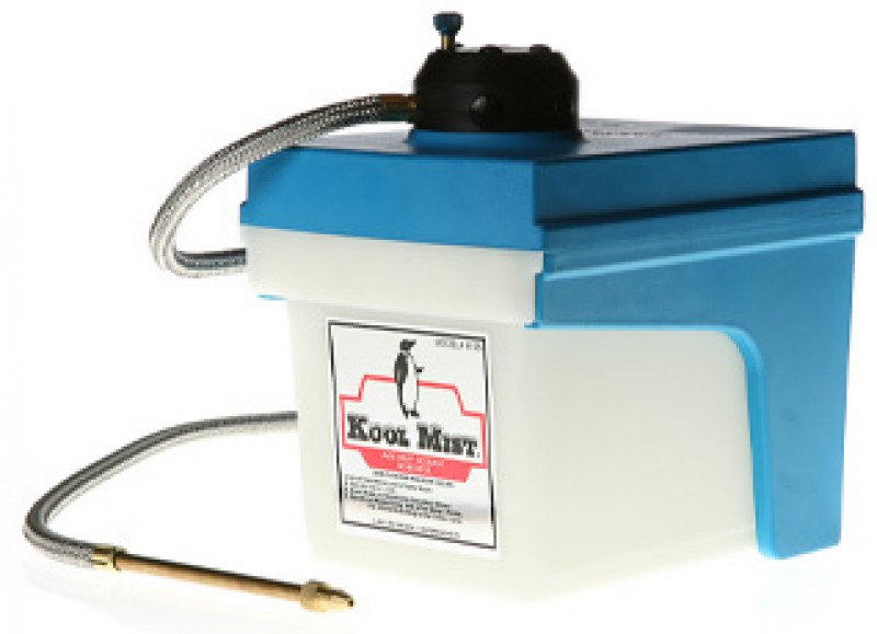 Cool Mist Coolant Tank System : Kool mist k advanced coolant system with tank spray